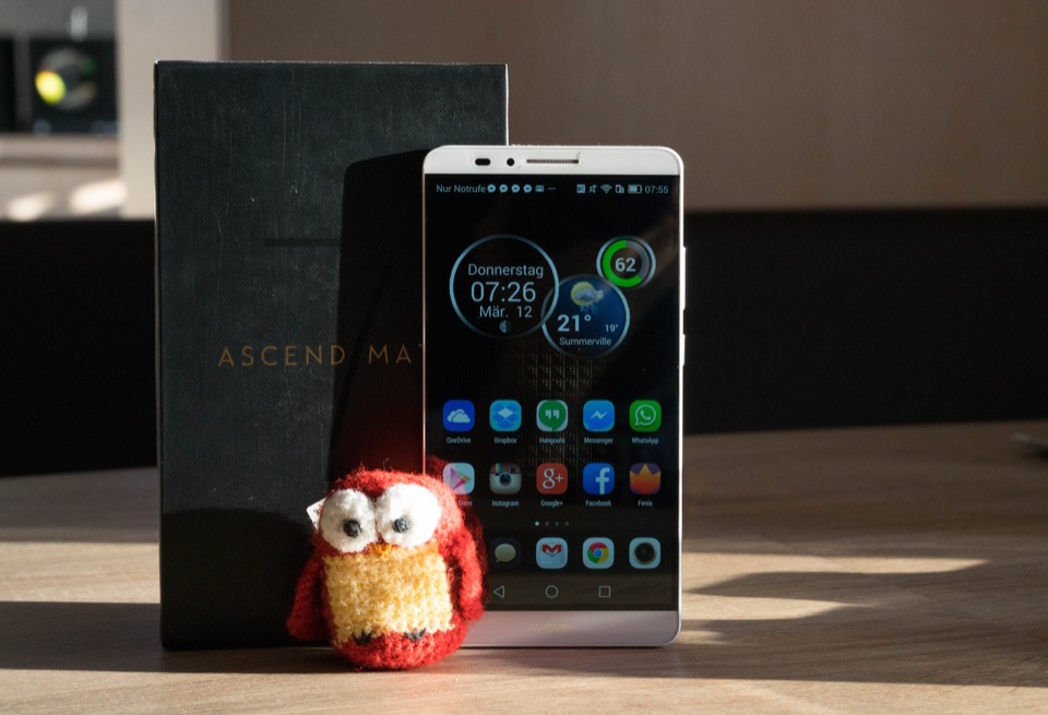 Android Ascend Mate 7 Huawei Phablet review test
