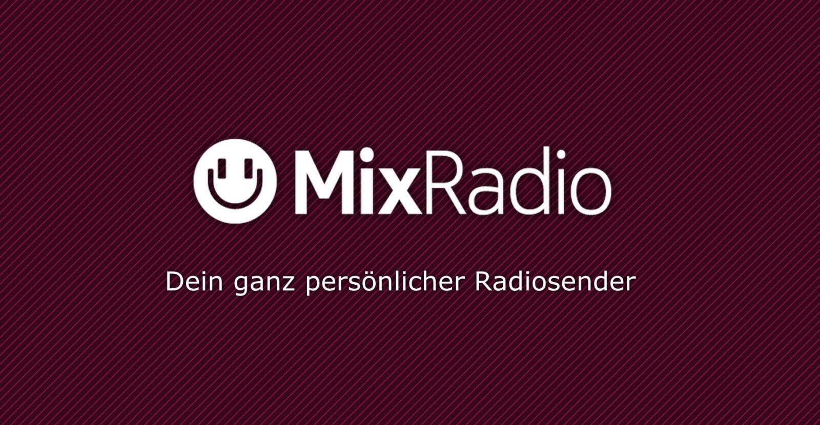 Android iOS mixradio Musik