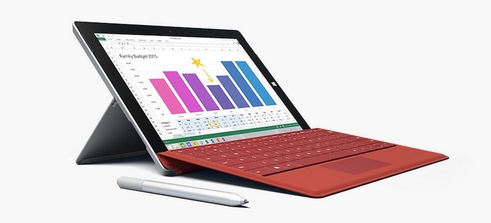 aff microsoft Surface 3 Windows