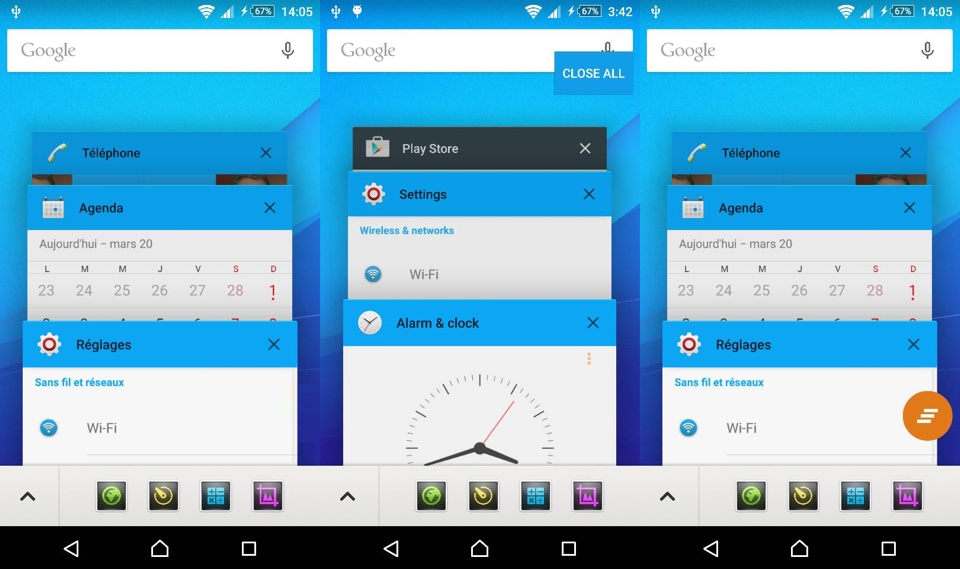 Android Devs & Geeks lollipop modding Recent Apps root Sony Xperia