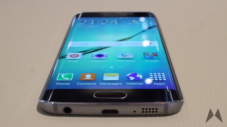 Android edge galaxy MWC2015 s6 Samsung