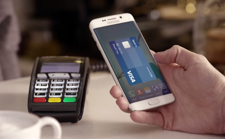 Android galaxy pay Samsung