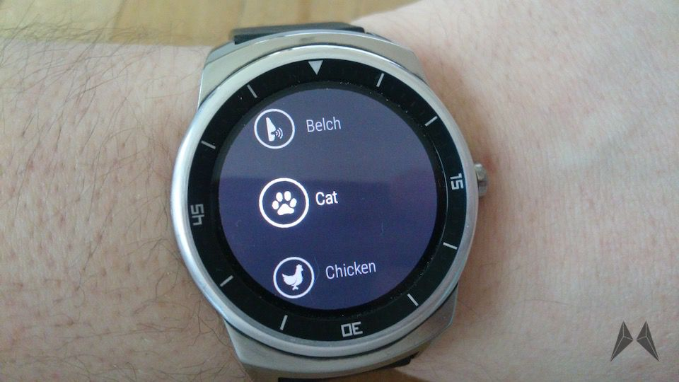 Android Android Wear app fun