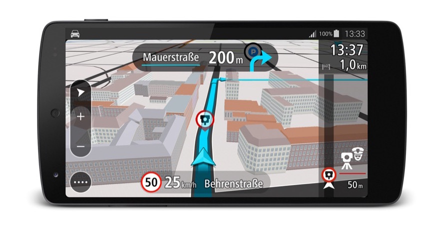 Android app Maps navigation TomTom