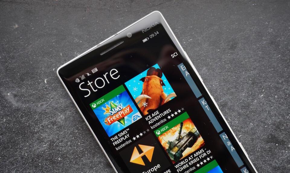 microsoft phone Store Windows