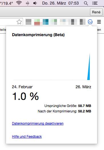 Browser chrome Daten Tool
