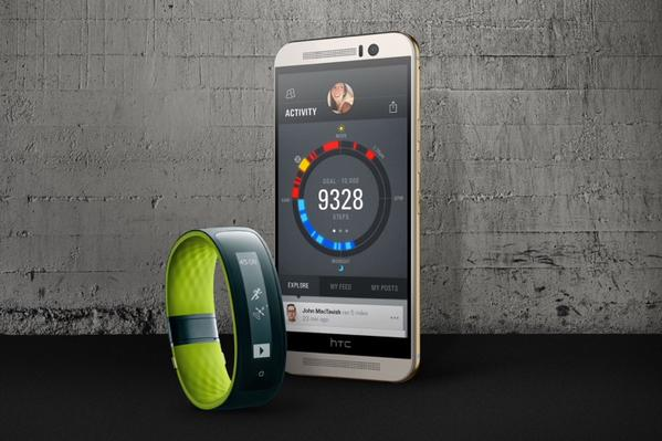 Android armband fitness HTC Leak m9 MWC2015 Smartphone