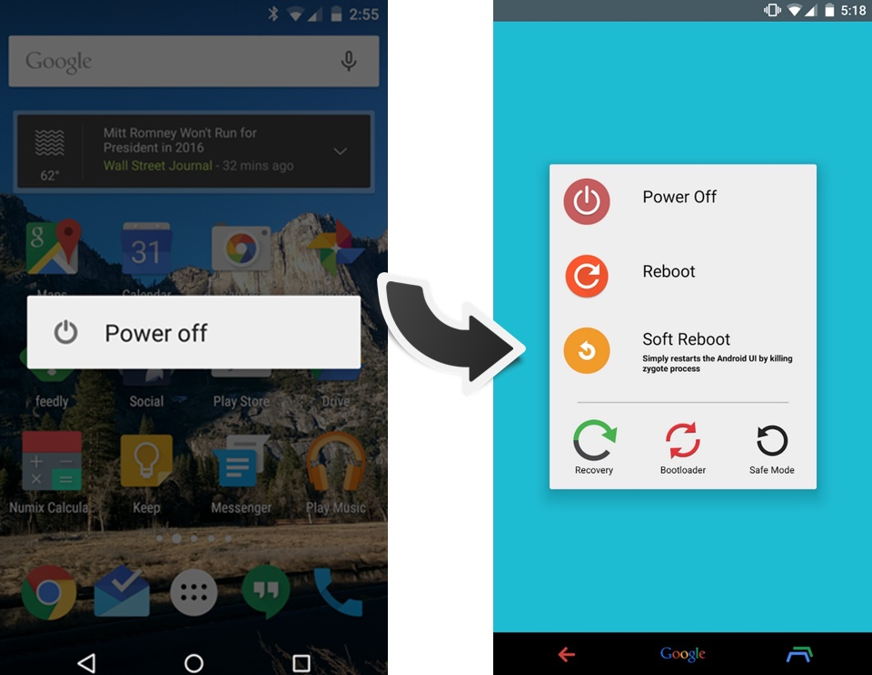 Android lollipop modding root