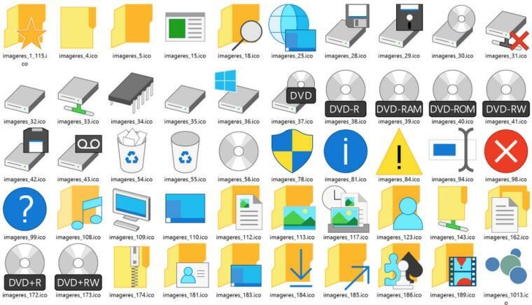 Firmware Icons microsoft ms symbole Windows Windows 10