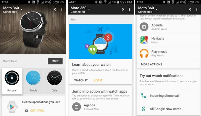 Android Update wear WiFi