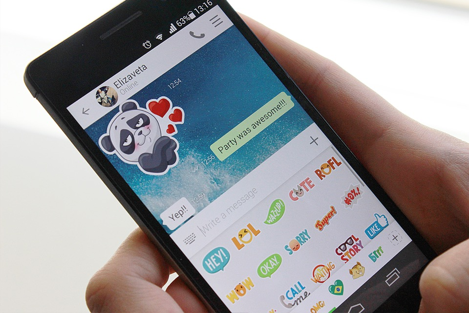 Android GIF ICQ instant messenger Messenger Update