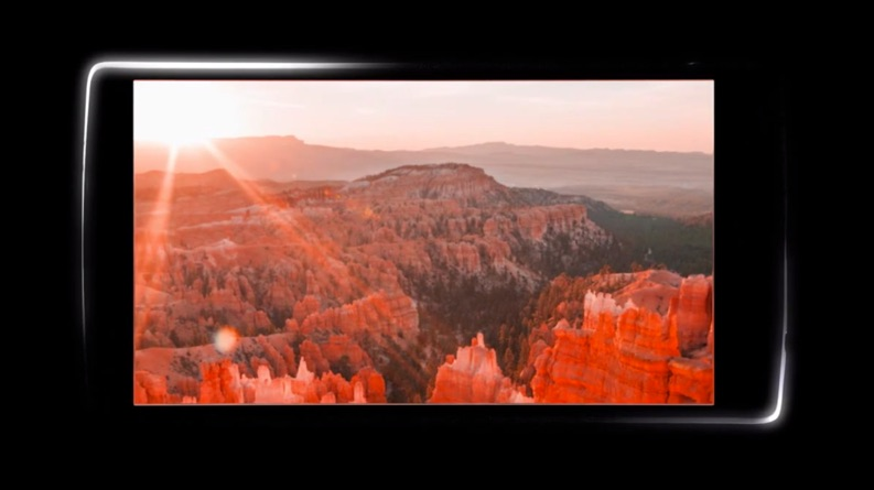 Android Display g4 LG teaser Video