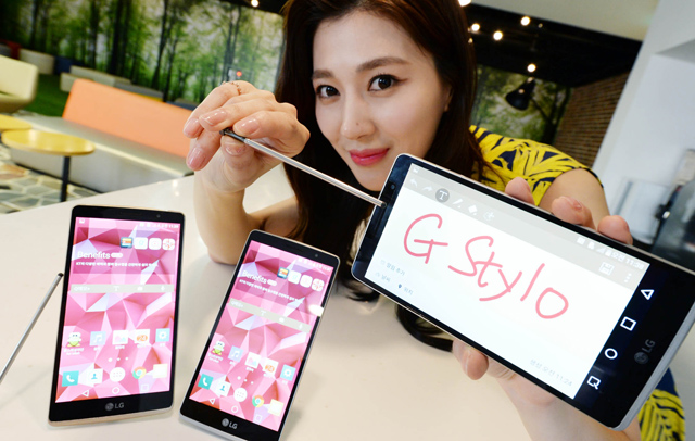 Android LG Phablet Stylus