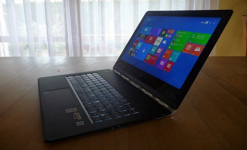 1 Convertible Lenovo Yoga 3 Pro review test ultrabook Windows