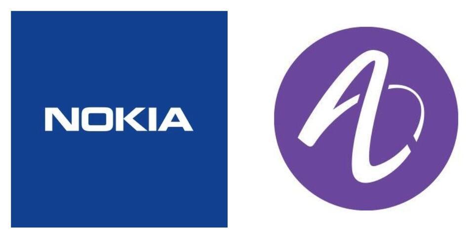 Alcatel here Nokia