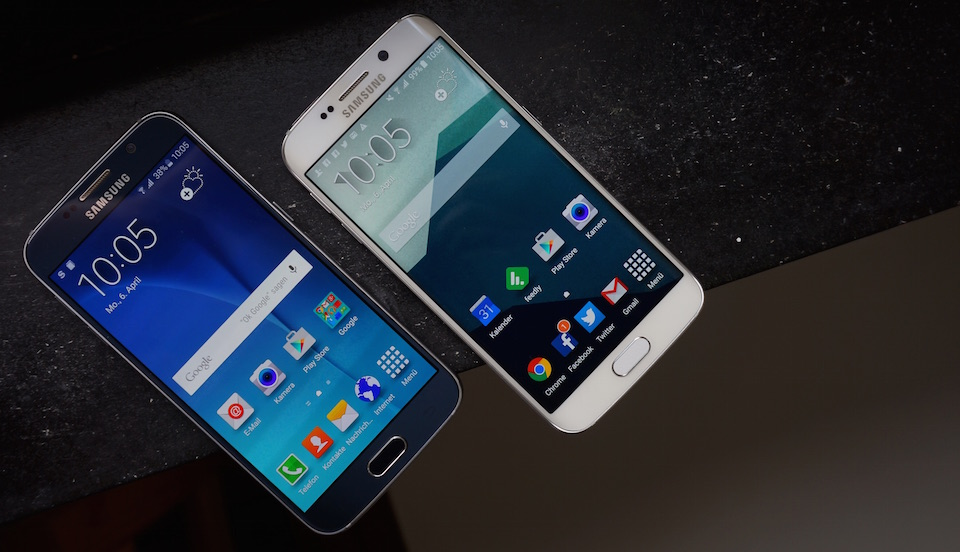 1 aff Android edge galaxy review s6 Samsung test Testbericht