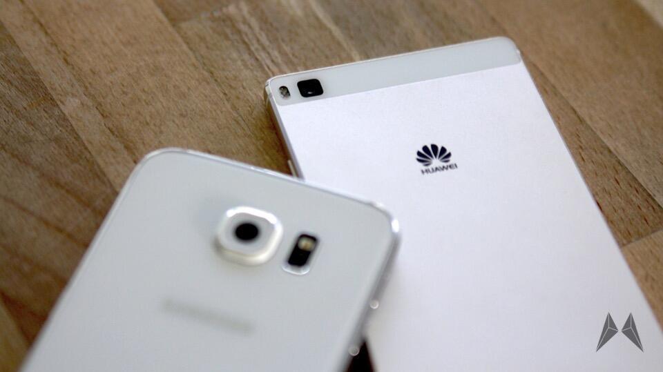 Android Huawei Kamera p8 s6 Samsung