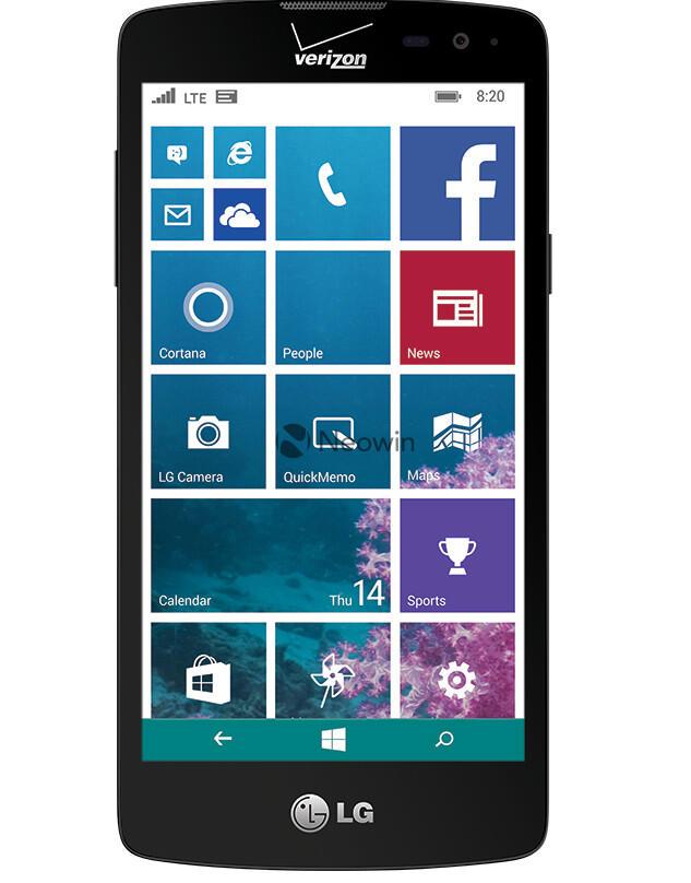 leaks LG Smartphone verizon Windows Phone