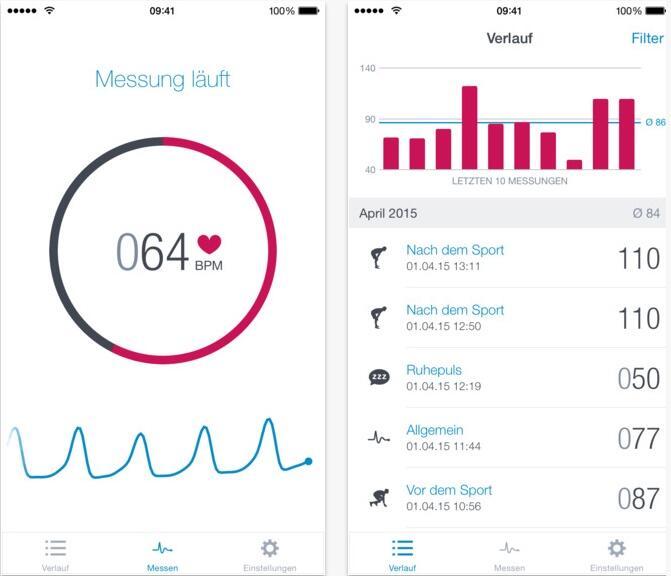 app health iOS Sport Update