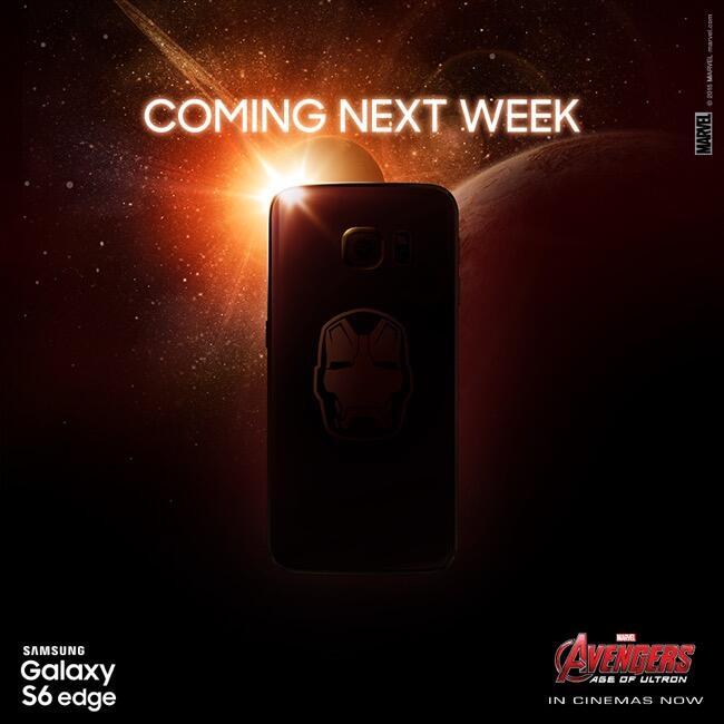 Android edge galaxy iron man Leak s6