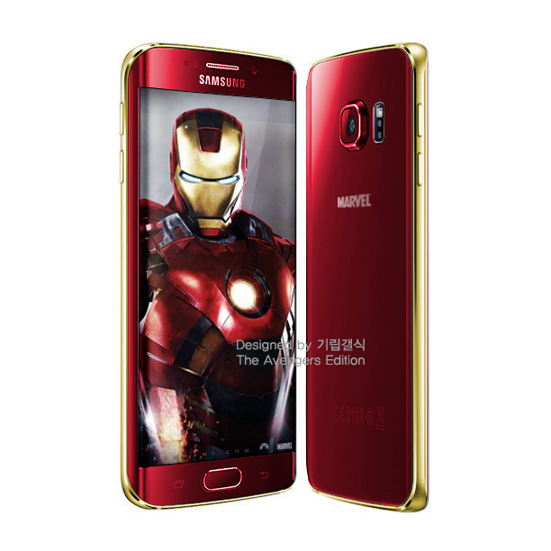 Android edge galaxy iron man s6 Samsung