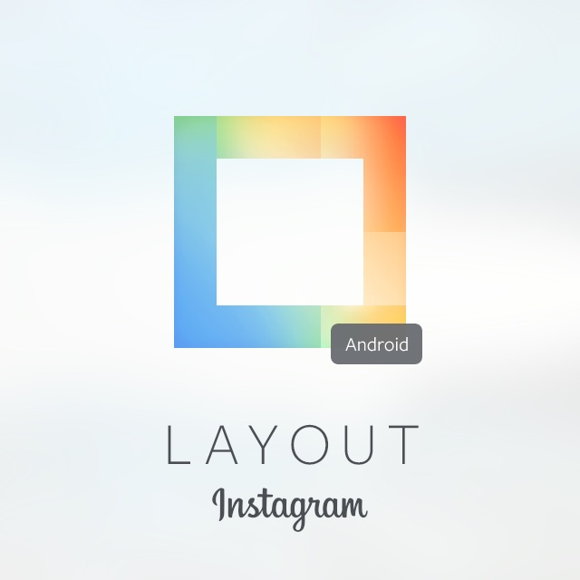 Android app instagram layout