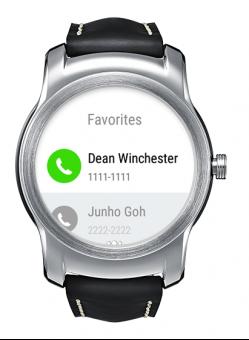 lg watch urbane neue call app startet telefonate ber die smartwatch. Black Bedroom Furniture Sets. Home Design Ideas