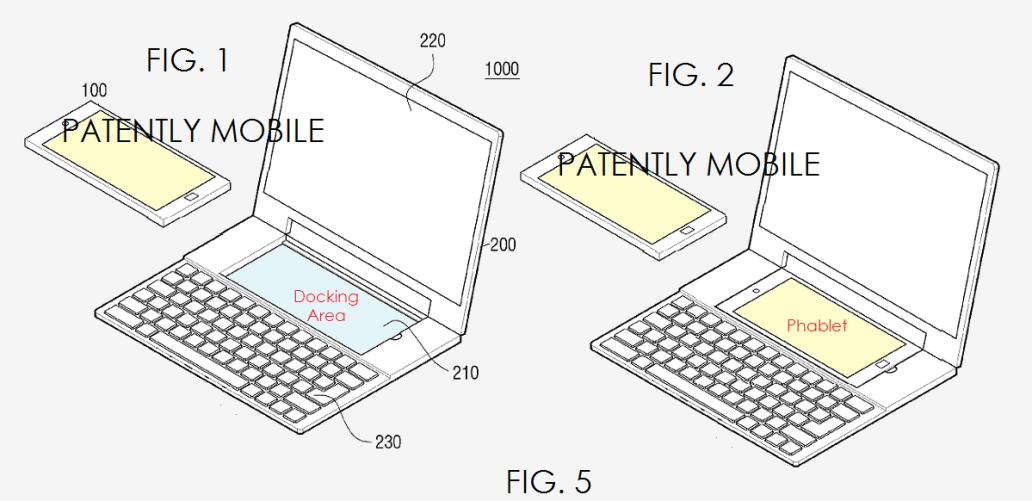 Dock Leak Patent Phablet Samsung