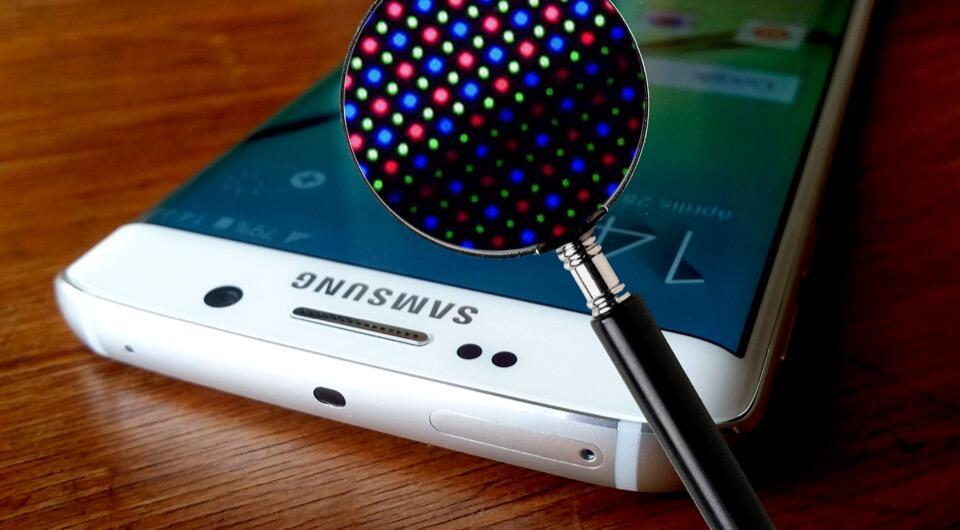Android Display edge Fotos Samsung