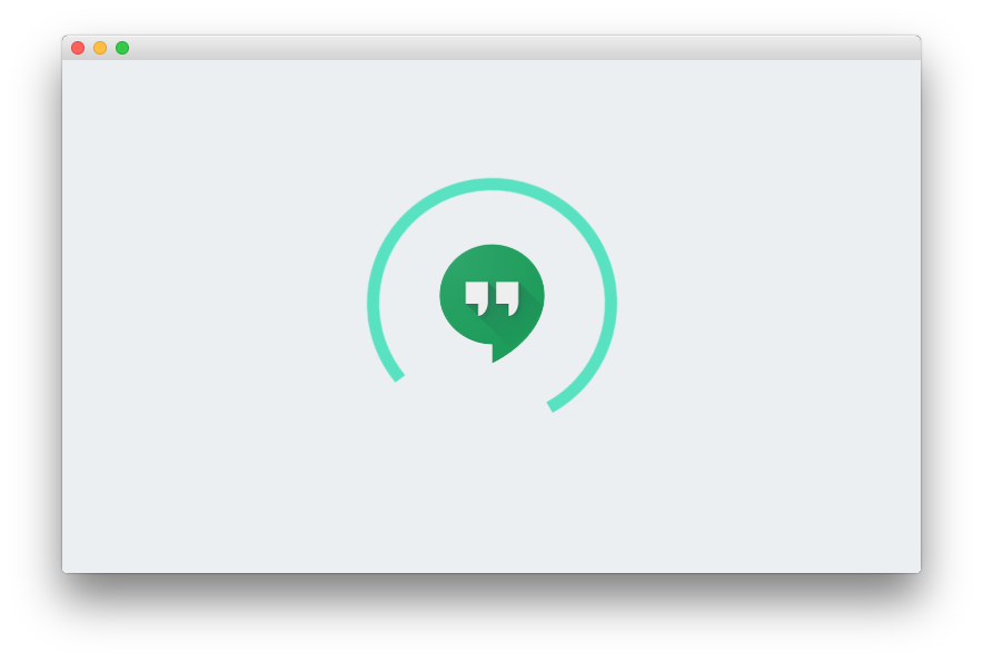 chat chrome hangouts Messenger Update
