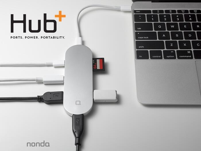 Apple hub kickstarter macbook