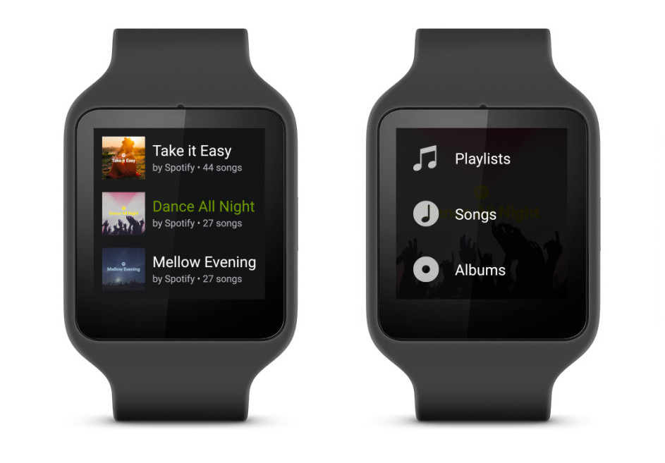 Android Android Wear spotify
