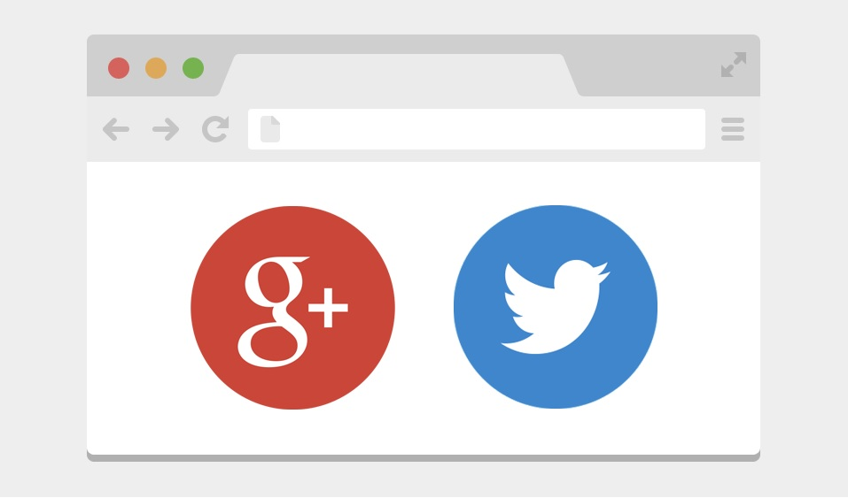 Google google plus social twitter