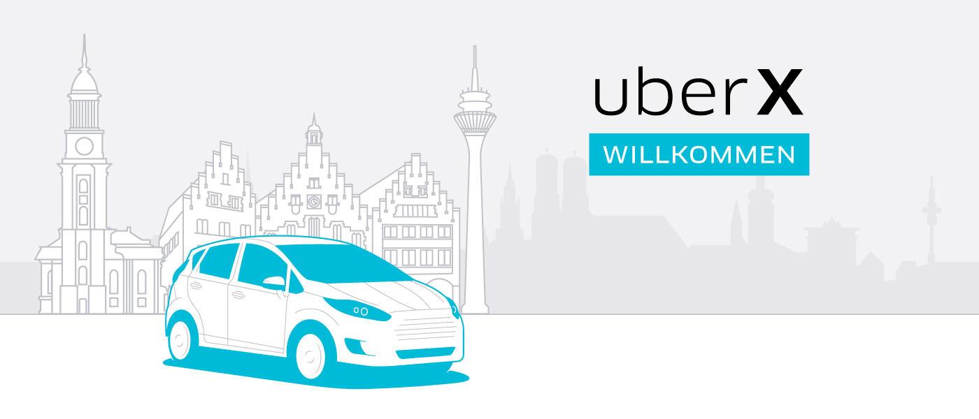 dient taxi uber UberX