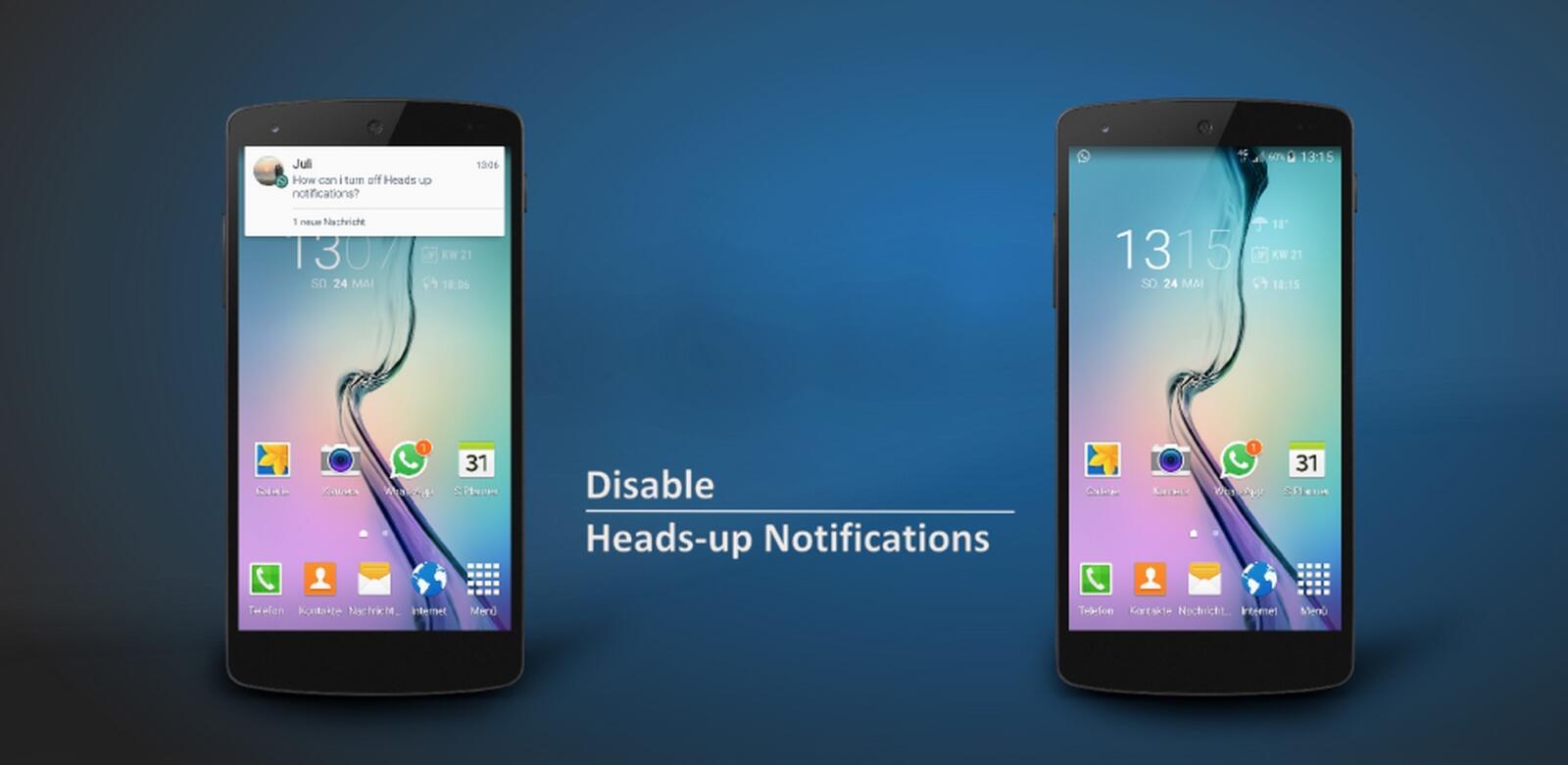 Android Head-up xda