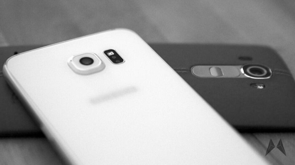 Android galaxy Kamera LG G4 s6 Samsung vergleich