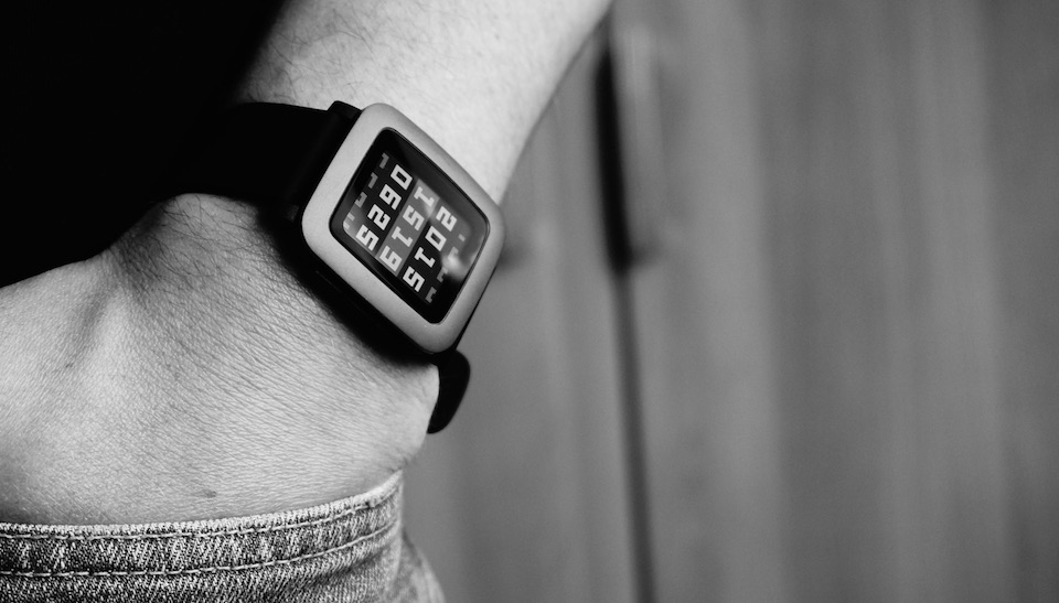 1 aff Android iOS Pebble preis round steel time