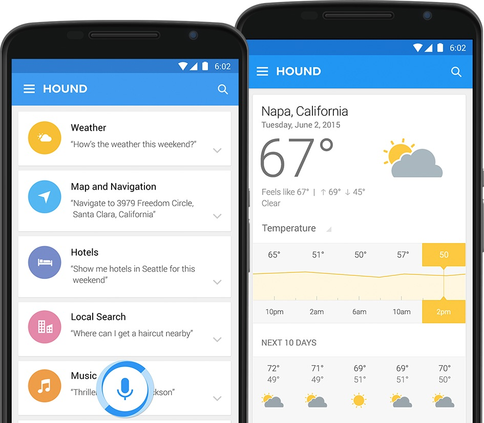 Android iOS soundhound