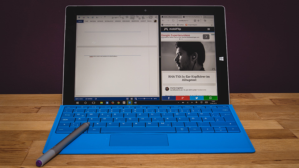 1 laptop microsoft Notebook review surface tablet test Windows