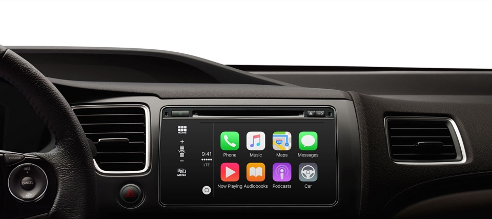 Apple auto carplay iOS KFZ