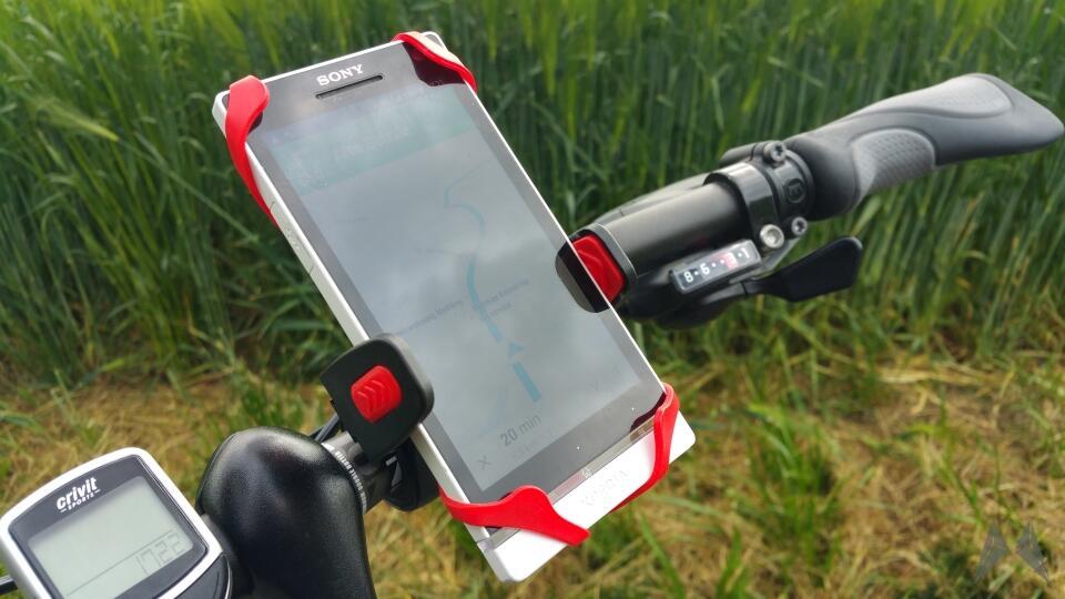 oso cyclomount fahrrad halterung f r das smartphone. Black Bedroom Furniture Sets. Home Design Ideas