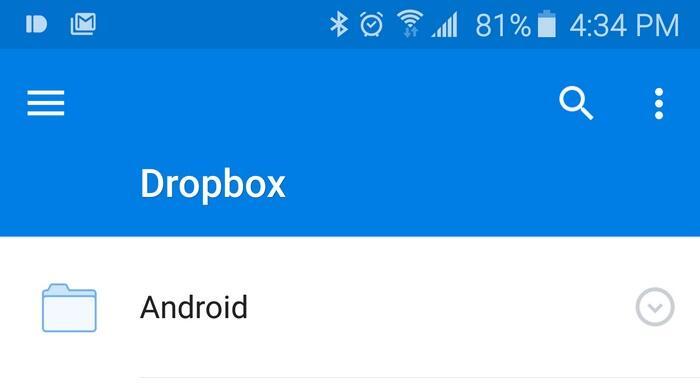 cloud dropbox stats user