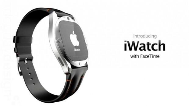 Apple FaceTime iWatch Konzept retina smartwatch Uhr