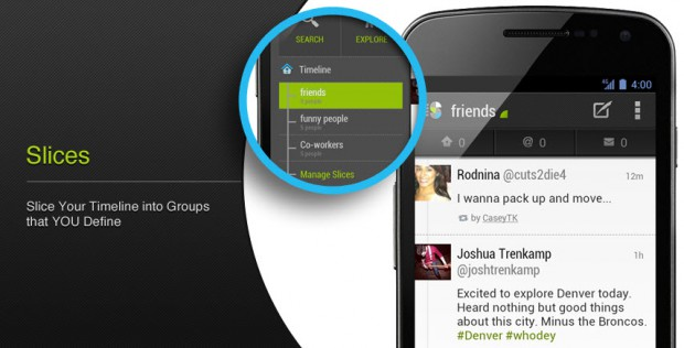 Android app iOS social twitter web