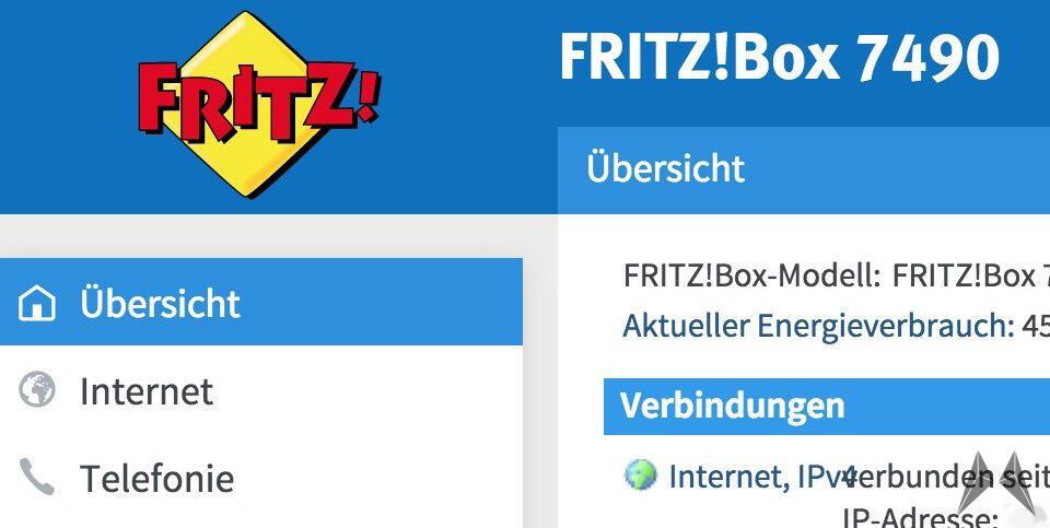 Firmware fritzbox labor oberfläche pc Router