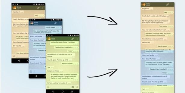 Android chat screenshots sicherung whatsapp