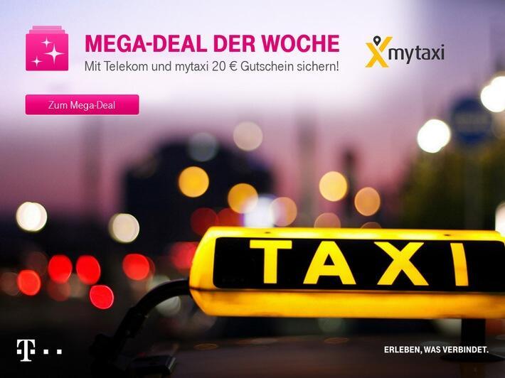 deal Kostenlos mytaxi Telekom