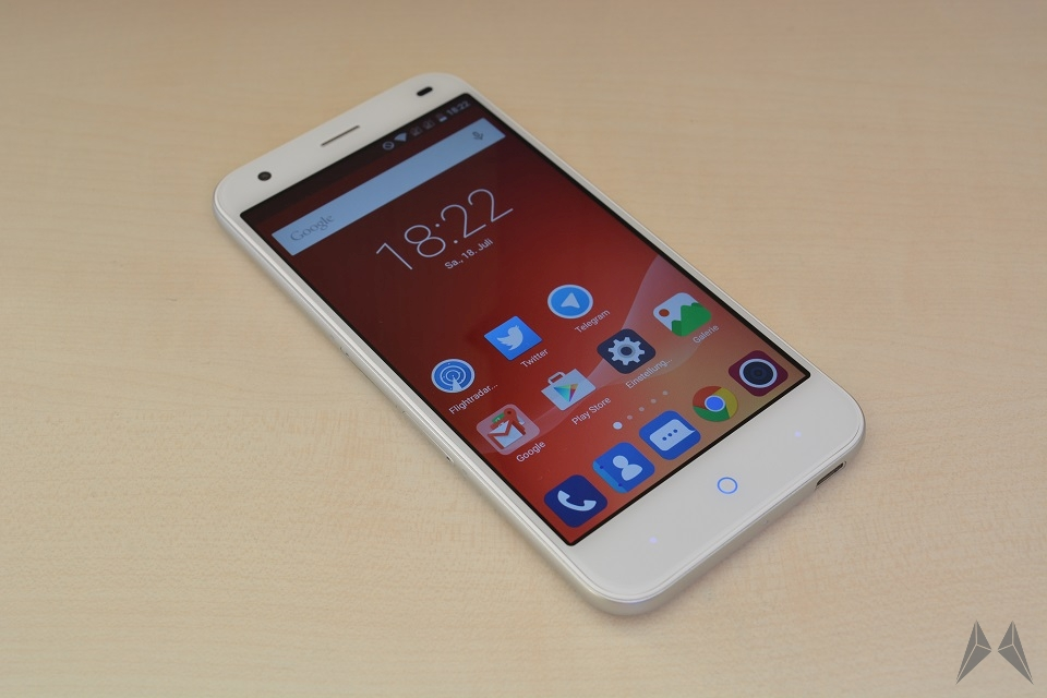 1 aff Android ZTE