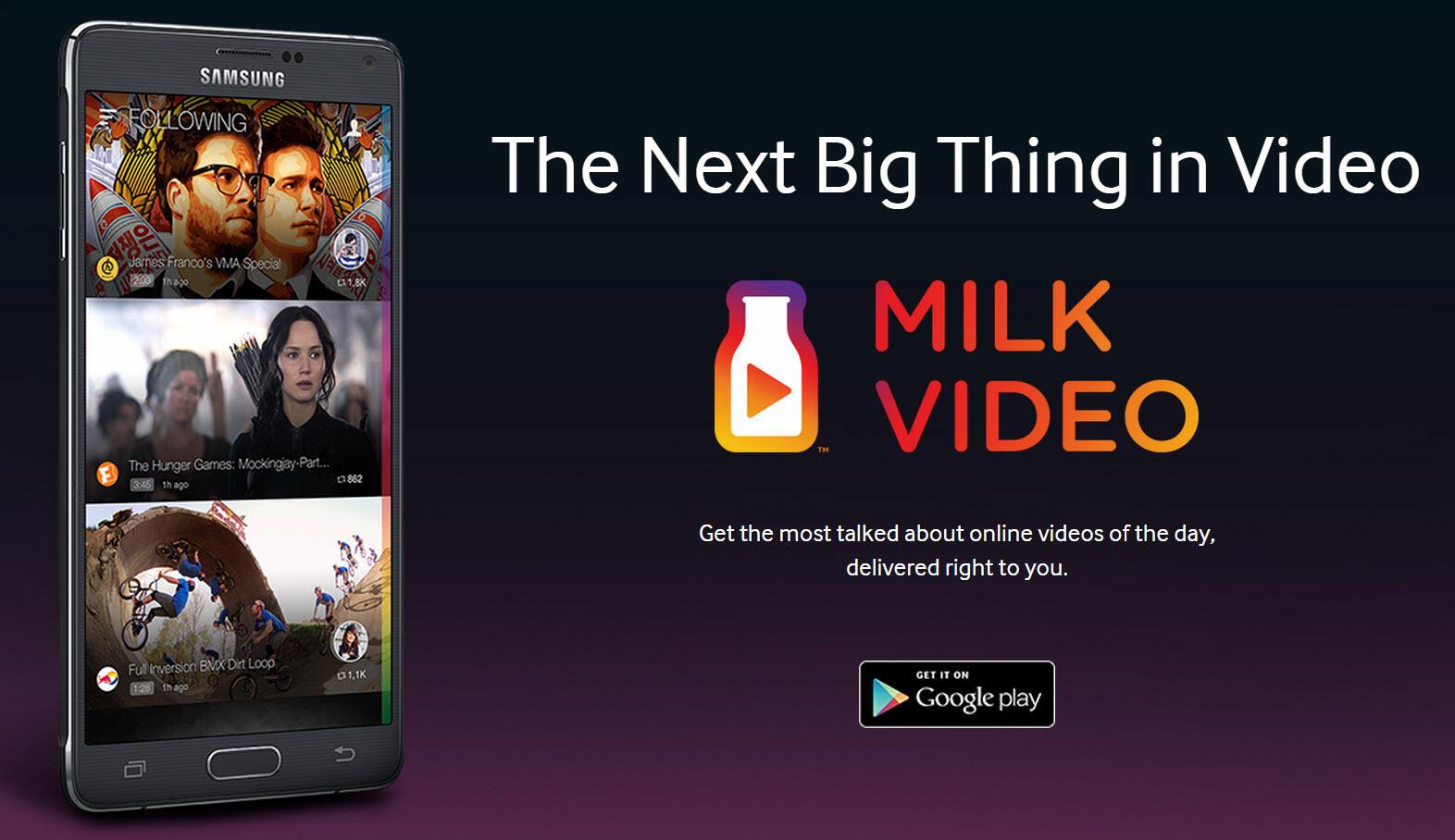 milk Samsung