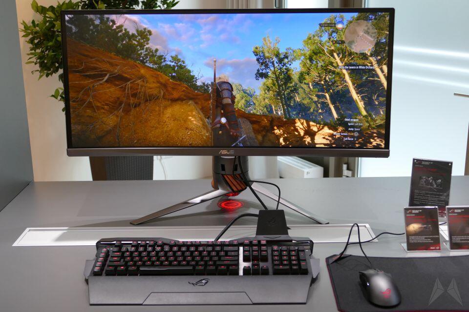 Asus gaming Monitor ROG screen